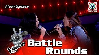 The Voice Teens Philippines Battle Round: Bea vs. Fritzy - Dream On