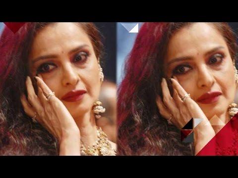 Aww! Rekha Gets Emotional For Amitabh Bachchan | Bollywood News