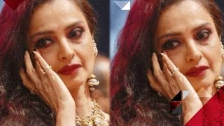 Aww! Rekha Gets Emotional For Amitabh Bachchan | Bollywood News