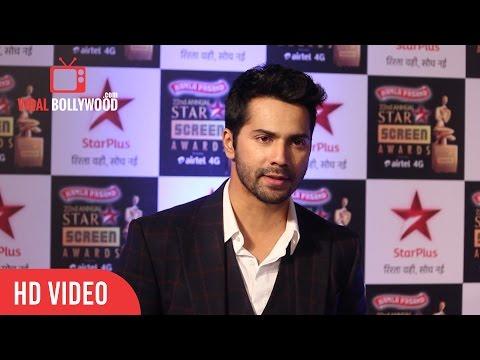 Varun Dhawan | 22nd Annual Star Screen Awards 2016 | Star Plus