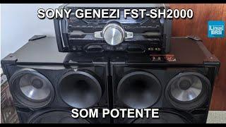 Aparelho de som da Sony - Muito grande !!!!