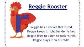 Alphafriends: Reggie Rooster