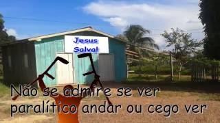 Shirley Carvalhaes - Nossa Canção (Playback legendado 1 tom acima do tom original)