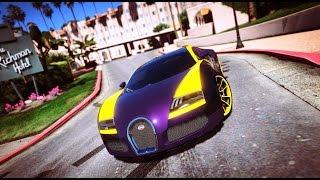 Ông Vua Tốc Độ Bugatti Veyron Xuất hiện | Siêu Xe Trong GTA V Tập 17 | ThanhTrungGM