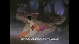 Pocahontas 2 - Where Do I Go From Here [Reprise] (EU Portuguese) *Lyrics* HD