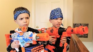 Nerf War : Payback Time Squad vs Daddy (2019)