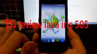รีวิว review lava iris 505