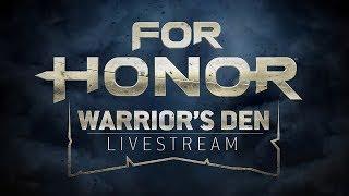 Warrior's Den Weekly Livestream - August 24th