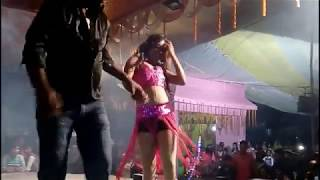 Cute girl dancing on the stage 720p video   Viral Video   Village Dance Show