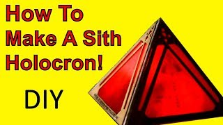 How To Make A Sith Holocron (Star Wars DIY)