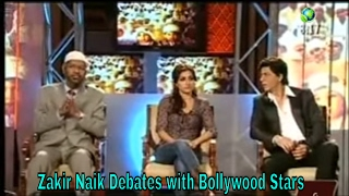 Dr Zakir Naik Debates | with Bollywood Stars - on India Media - Peace TV on Dish TV 2017
