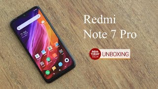 Xiaomi Redmi Note 7 Pro India Variant Unboxing | India Today Tech