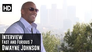 Fast and Furious 7 Interview - Dwayne Johnson