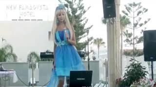 BB SHOW Barbie + Baccara - Tatyana Tuzova - VENUS  Татьяна Тузова живая кукла Барби