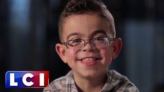 Le formidable message d'espoir d'Imad (8 ans) greffé d'un rein dans Sept à Huit