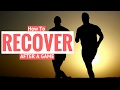 How To Recover After A Soccer Game