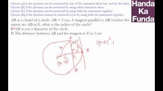 CAT 2015 Exam Online Coaching Preparation Material - Geometry - Handa Ka Funda (C03GE10)