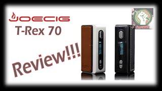 Joecig T-Rex 70Watts TC Box Mod | Iamvaper