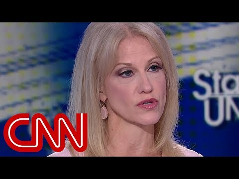 Kellyanne Conway spars with Tapper Trump denied the affair