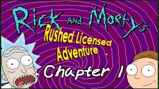CLICK IT   Rick and Morty's Rushed Licensed Adventure   Chapter 1