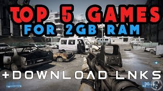 Top 5 Free PC Games For 2GB Ram +download Links