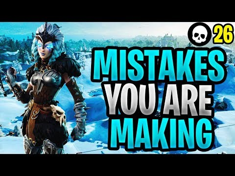 Mistakes That You re Probably Making In Fortnite Fortnite How To Get Better