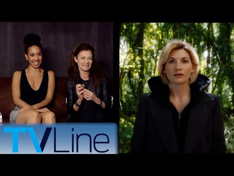 Doctor Who Cast Interview & Reaction to 13th Doctor Comic Con 2017 TVLine