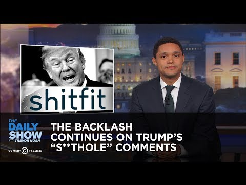 Xxx Mp4 The Backlash Continues On Trump S S Thole Comments The Daily Show 3gp Sex