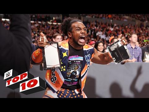 Top 10 Raw moments WWE Top 10 Feb 20 2017