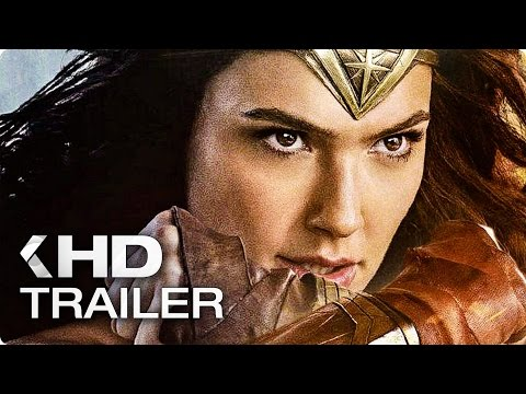 WONDER WOMAN ALLE Trailer German Deutsch (2017)