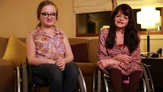 Our Unbreakable Bond: Mum And Daughter Both Have Brittle Bone Disease
