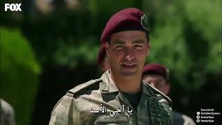 مشهد مهاجمة كاغان لقائده العقيد ابراهيم كوبوز
