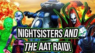 Talzin + Nightsisters and the Heroic AAT Raid! (3.3+ Mil Damage!) | Star Wars: Galaxy of Heroes