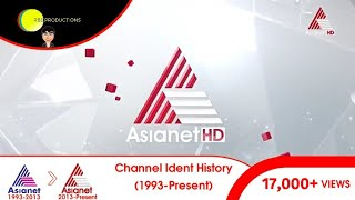Asianet Channel Ident History (1993-Present) | RBD Official