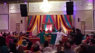 Aysha's mehndi dance