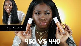 ♡ Fenty Beauty Pro Filt'r Update Shade #440 vs #450
