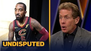JR Smith frustrated with losing starting job to Dwyane Wade in Cleveland | UNDISPUTED