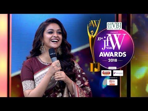 Xxx Mp4 Gorgeous Keerthy Suresh Speech At JFW Awards 2018 I Was Blessed By Savitiri Amma 3gp Sex