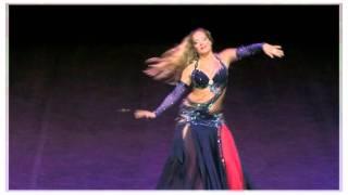 Eglal belly dancer- Modern Egyptian Raqs Sharqi (oriental song Nagwa)