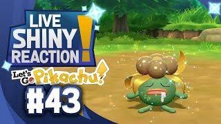 ✨SHINY GLOOM LIVE REACTION✨ || KANTO LIVING DEX #43 - Pokémon LGPE