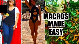 ALL ABOUT MACROS | EASY How to Track Your Macros & Calories for Weight Loss!
