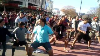 Gizzy Haka Flash Mob