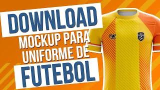 Pacote Mockups de Uniformes de Futebol - Download Grátis