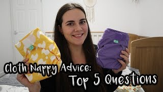 Cloth Nappy Advice: Your top 5 questions answered! | Bella Drew | Documenting the Drews | UK