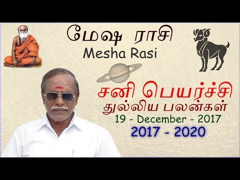 Xxx Mp4 Mesha Rasi Sani Peyarchi Palangal 2017 2020 By Sri Pamban Astrology 3gp Sex