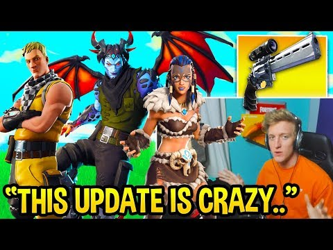 Tfue FULLY Explains ALL Fortnite 7.20 Changes Shields NERF Editing UPDATE and MORE NEW SKINS