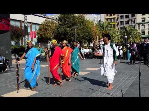 Arab Cultural Festival 2012 Sudanese Sword Dance Union Square Clip 4