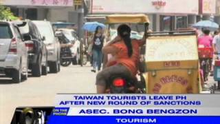 DOT appeals to Taiwan tour operators for leniency amid red tourism alert