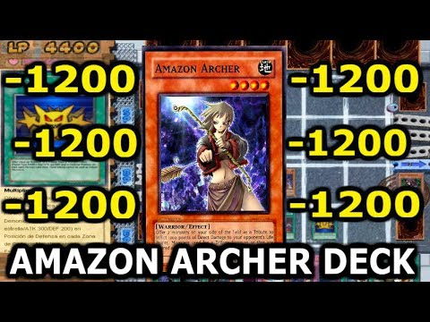 Yu-Gi-Oh! Power of Chaos AMAZON ARCHER DECK + DONWNLOAD DECK