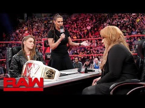 Xxx Mp4 Ronda Rousey Vows To Take Nia Jax S Arm And Her Title Raw May 21 2018 3gp Sex